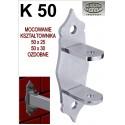 Mocowanie / uchwyt przesła K50 - ozdobne