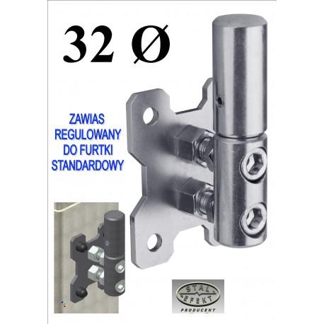 Zawias regulowany furtki D32 - st.