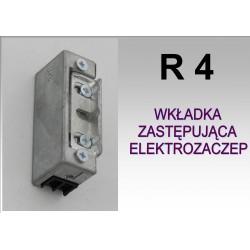 Zaczep / wkładka zastępcza R4 - stała.
