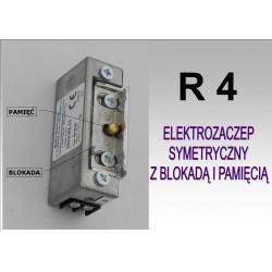 Elektrozaczep symetryczny R4 z blokadą i pamięcią