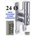Zawias do bramy regulowany D24 - standard