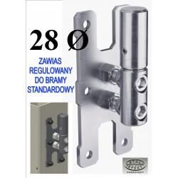 Zawias bramy D28- standard.