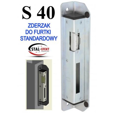 Zderzak furtki S40 - standardowy.