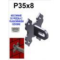 Uchwyt / mocowanie przesła P35 - ozdobne