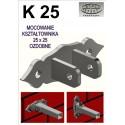 Mocowanie / uchwyt przesła K25 - ozdobne