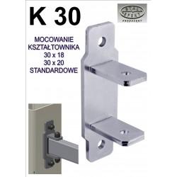 Mocowanie kształtownik 30x20 - standard.